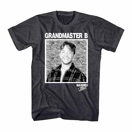 Married With Children Grandmaster B Gray T-Shirt