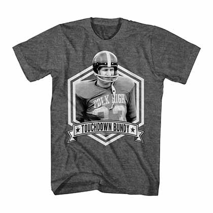Married With Children Touchdown Bundy Gray T-Shirt