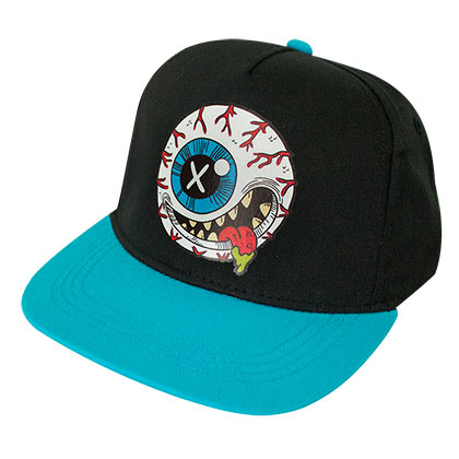 Madballs Toys Youth Black Blue Adjustable Hat