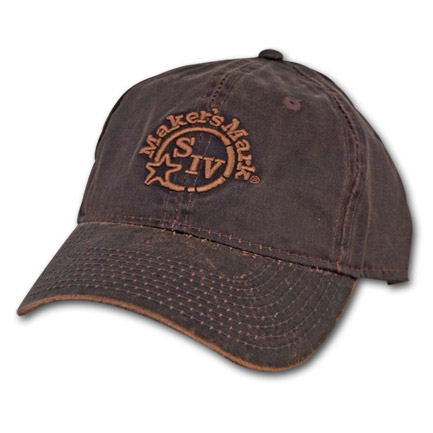 Makers Mark Brown Oil Cloth Hat