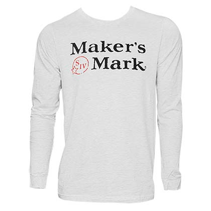 Maker's Mark Long Sleeve Tee Shirt