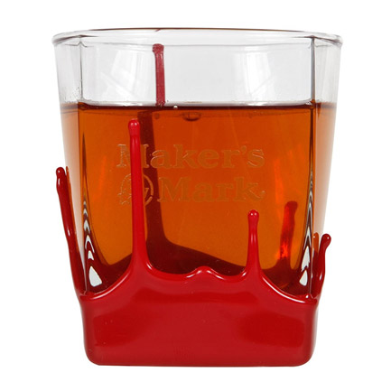 Maker's Mark Red Wax 9 oz. Rocks Glass