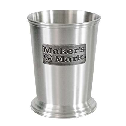 Maker's Mark Brushed Pewter Julep Cup
