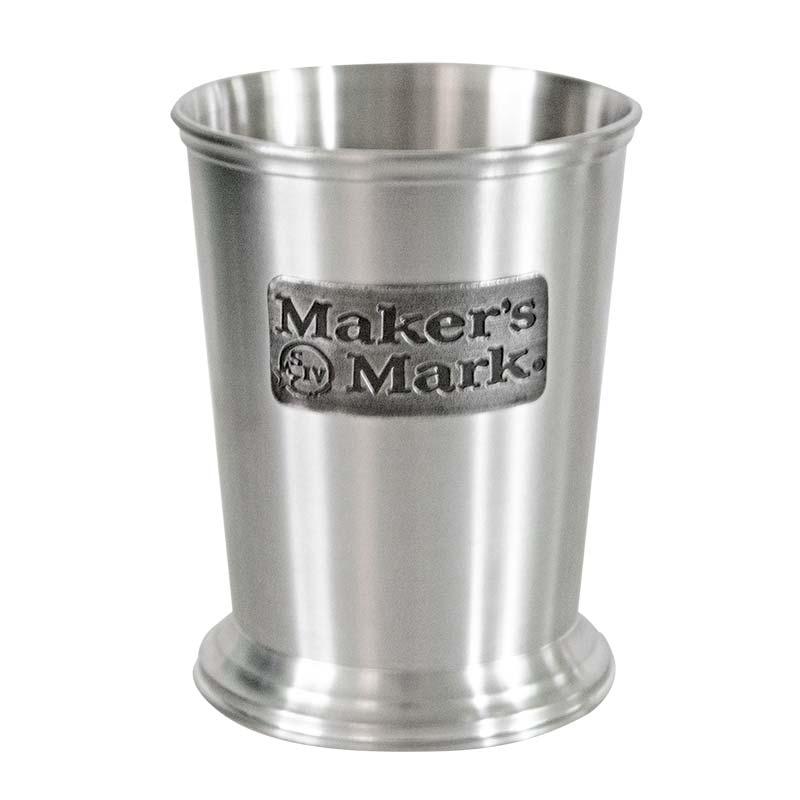 Maker's Mark Brushed Pewter Julep Cup
