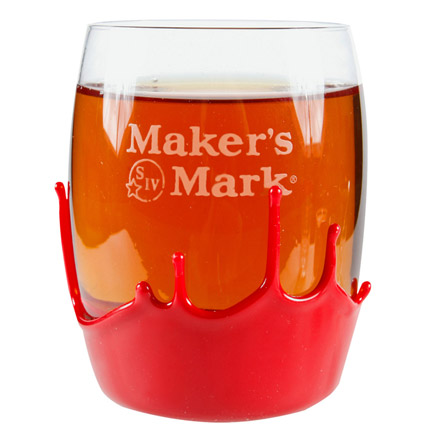 Maker's Mark Wax Seal 9 oz. Rounded Rocks Glass