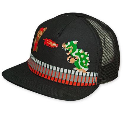 Super Mario Bros. Bowser Battle Trucker Hat