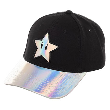 Super Mario Bros. Chrome Star Hat