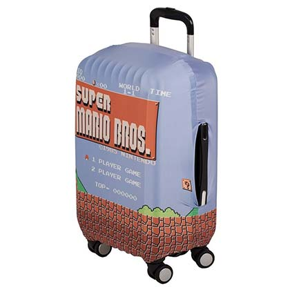 Super Mario Luggage Cover