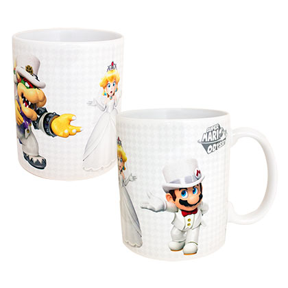 Super Mario Odyssey Who Will Peach Choose 11oz Tea Coffee Mug