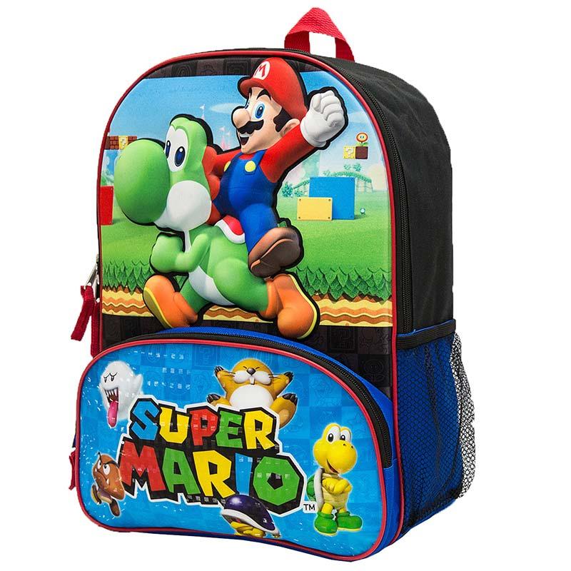 Super Mario and Yoshi Backpack