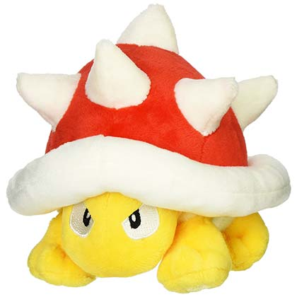 Super Mario Bros. Spiny 5 Inch Nintendo Plush Toy