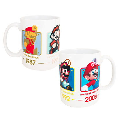 Super Mario Bros. Through The Years 11oz Coffee Mug