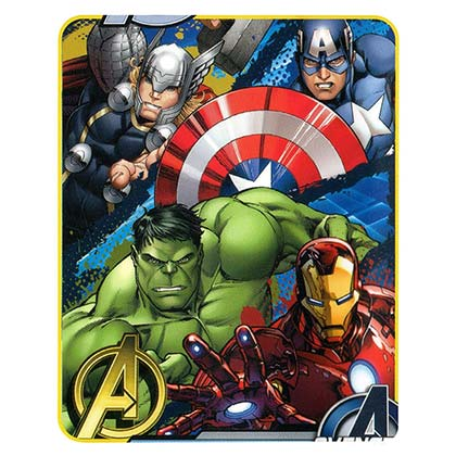 Marvel Avengers Fleece Defend Earth Blanket