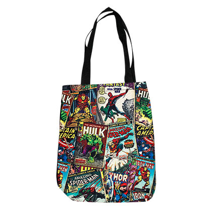 Marvel Comic Book Cover Tote Bag