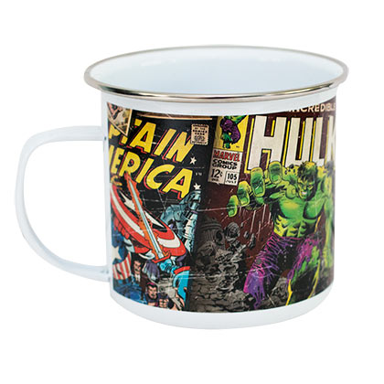 Marvel Superhero Enamel Mug