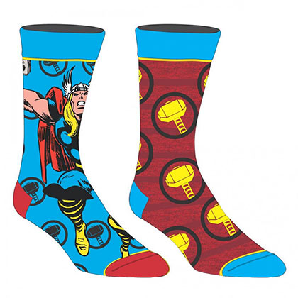 Thor Marvel 2 Pack Men's Crew Socks