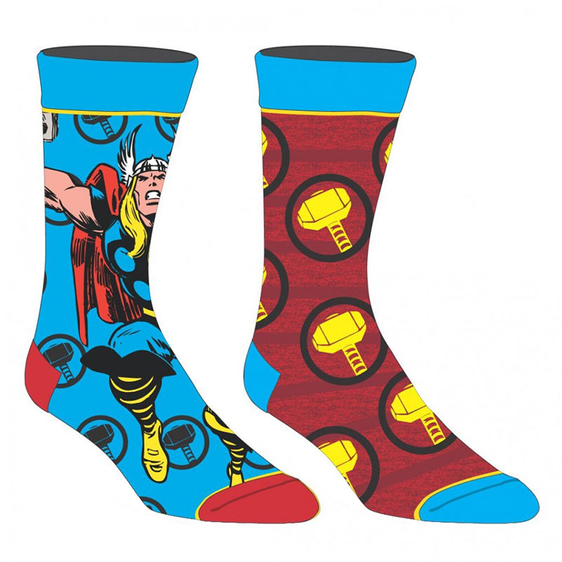 Thor 2 Pack Men's Crew Socks