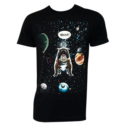 Lockjaw Outerspace Whoof Black Tshirt