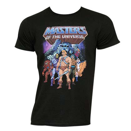 Masters of The Universe Graphic Logo Tee Shirt