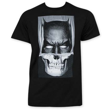 Batman V Superman Skull Tee Shirt