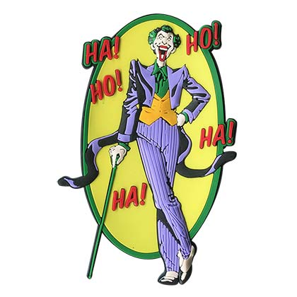Batman Joker Rubber Mega Magnet