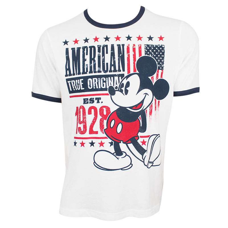 f6a4512c item was added to your cart. Item. Price. Mickey Mouse Men's White True  Original American T-Shirt