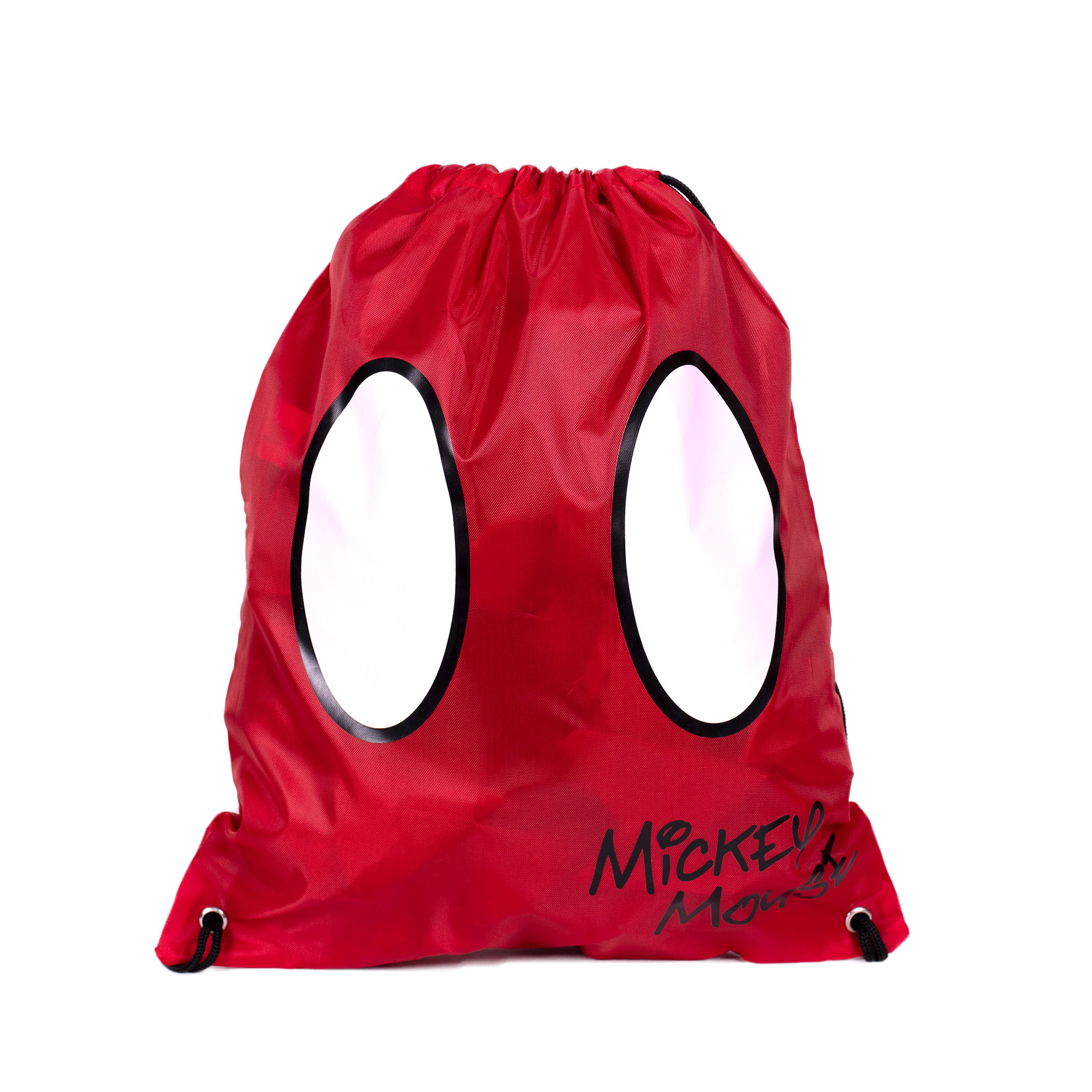 Mickey Mouse Red Shorts Drawstring Bag