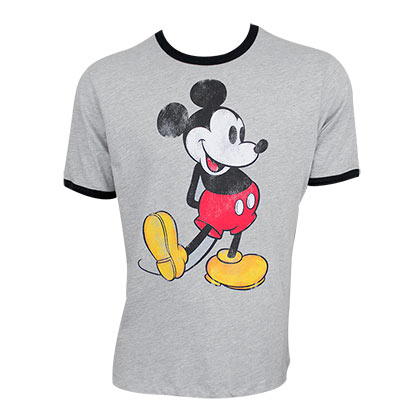 Mickey Mouse Ringer Tee Shirt