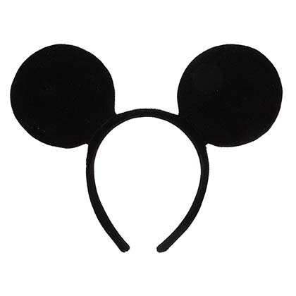 Mickey Mouse Costume Ears Headband