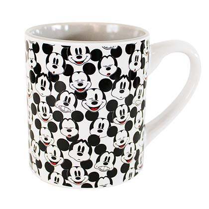 Mickey Mouse Faces Coffee Mug