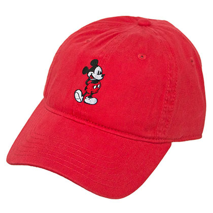 Disney Mickey Mouse Red Dad Hat