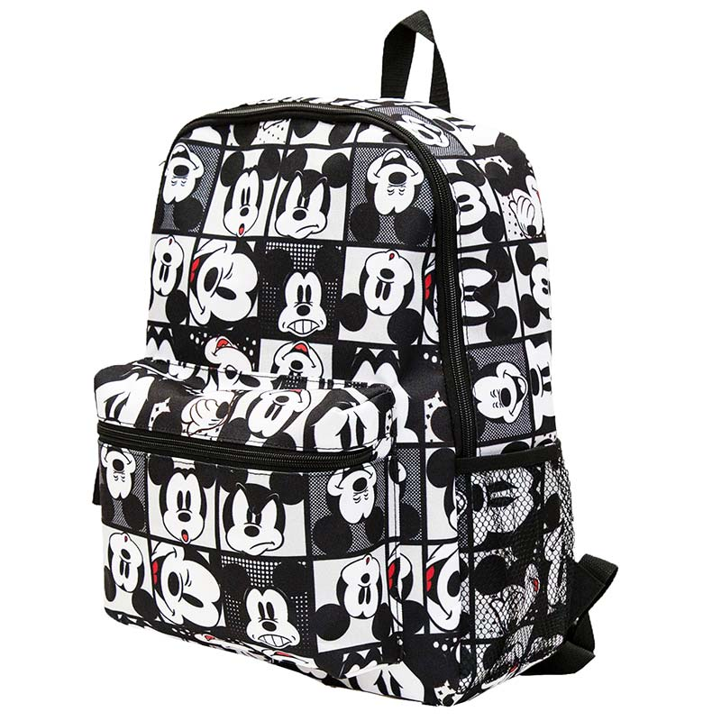Mickey Mouse Faces 16in Backpack