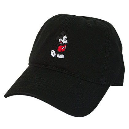 Disney Mickey Mouse Black Dad Hat