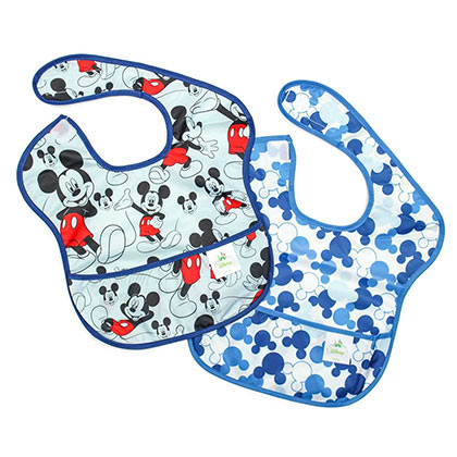 Mickey Mouse Bib Two Pack