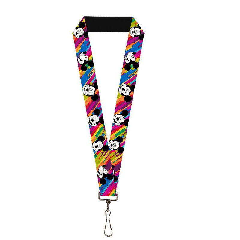 Mickey Mouse Rainbow Lanyard