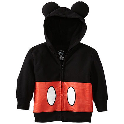 Mickey Mouse Toddlers Sized Costume Hoodie