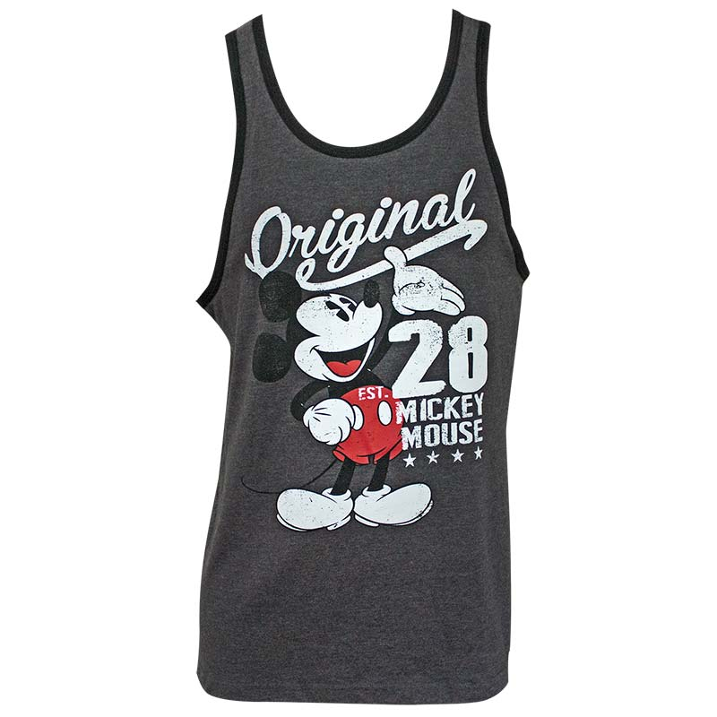 Mickey Mouse Original Men's Gray Tank Top
