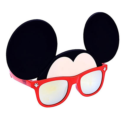 Mickey Mouse Bow Sun-Staches Sunglasses