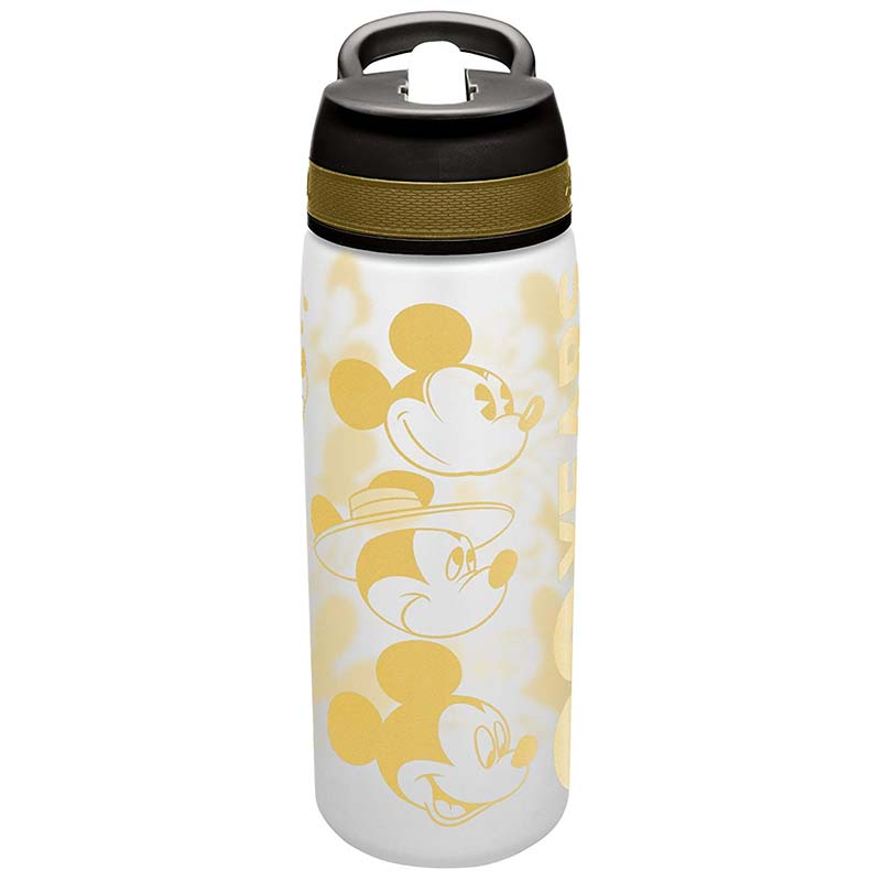 Mickey Mouse Gold 25oz Water Bottle