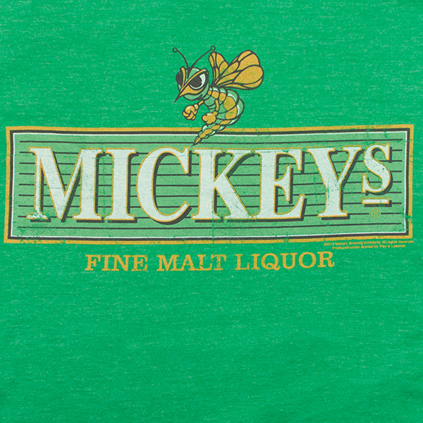 Mickey's Fine Malt Liquor Logo Tee - Green