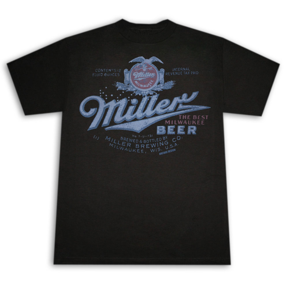Miller Beer Vintage Post Prohibition Shirt