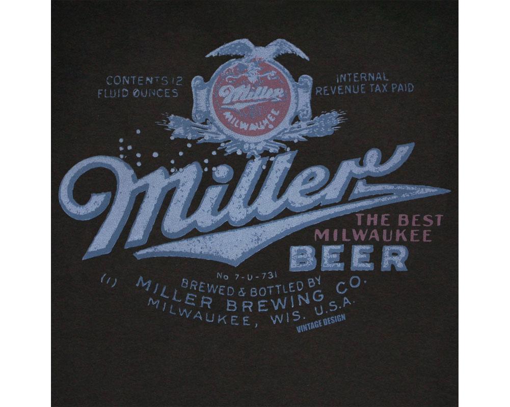 Miller Beer Vintage Post Prohibition Women 39 S Shirt