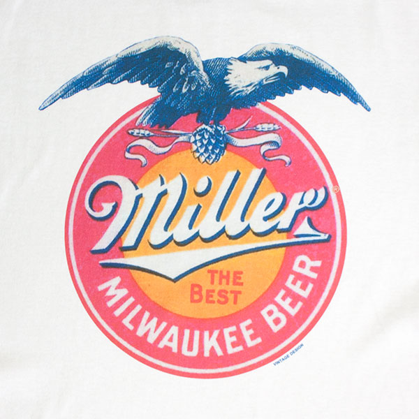 Miller Milwaukee Beer Eagle Tee Shirt