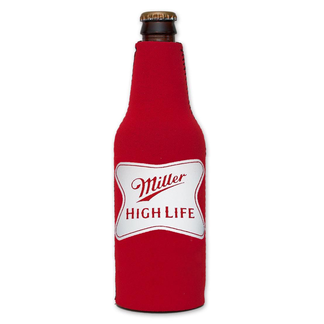 Miller High Life Logo Bottle SuitCooler - Red