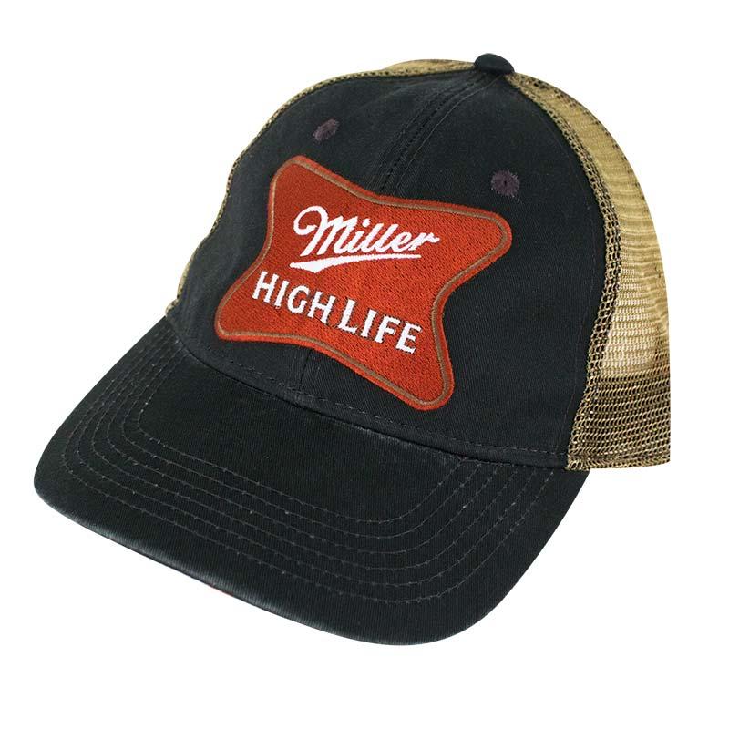 98a676cff85 Miller High Life Mesh Trucker Snapback Hat