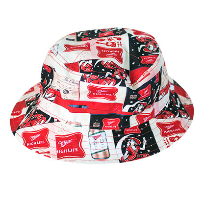 Miller High Life All Over Print Bucket Hat