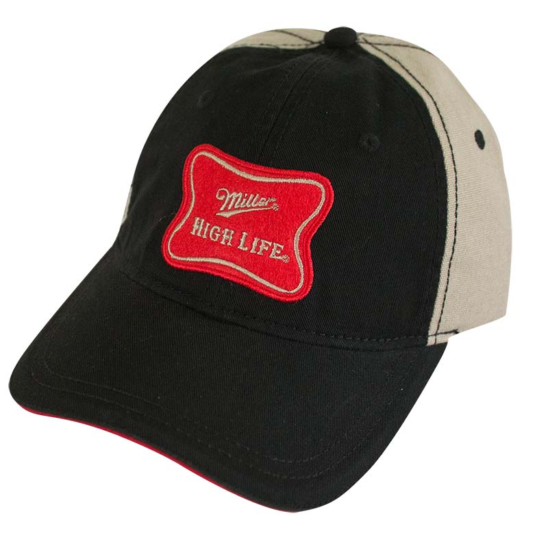 Miller High Life Khaki Two-Tone Hat