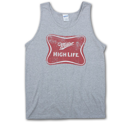 Miller High Life Vintage Logo Men's Tank Top