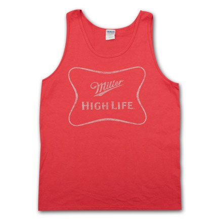 Miller High Life Faded Logo Men's Tank Top
