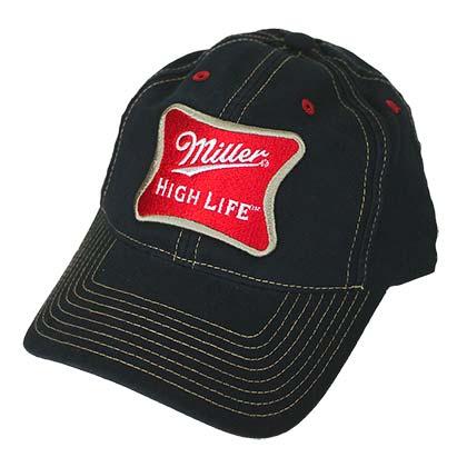 Miller High Life Adjustable Velcro Hat